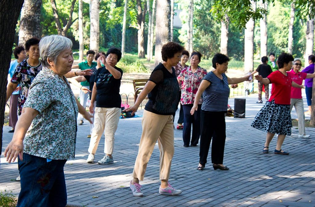 Keeping Seniors Active – No Sedentary Lifestyle