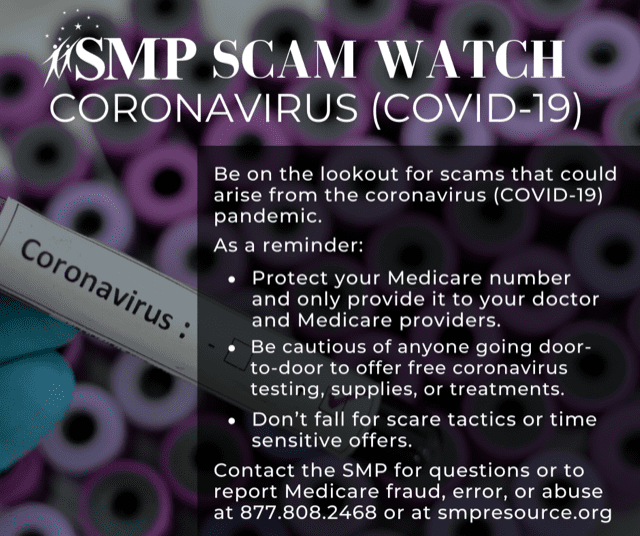 Consumer tip sheets about scams that are beginning to come about as a result of COVID-19